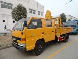 4*2 China 1 ton crane truck