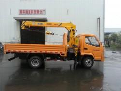China 2 ton crane truck
