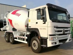 china 12 cubic mixer truck