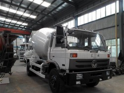 china 6 cubic mixer truck