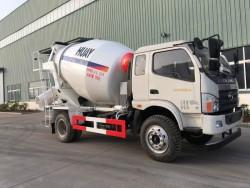 china 5 cubic mixer truck
