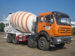 china 18 cubic mixer truck