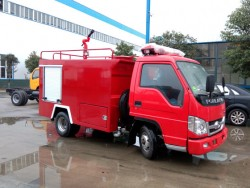 china 2 ton fire water truck