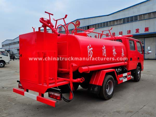 China Dongefeng 4 ton Fire Fighting Water Tanker Truck