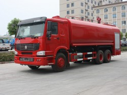 China 25 ton Fire Water Trucks