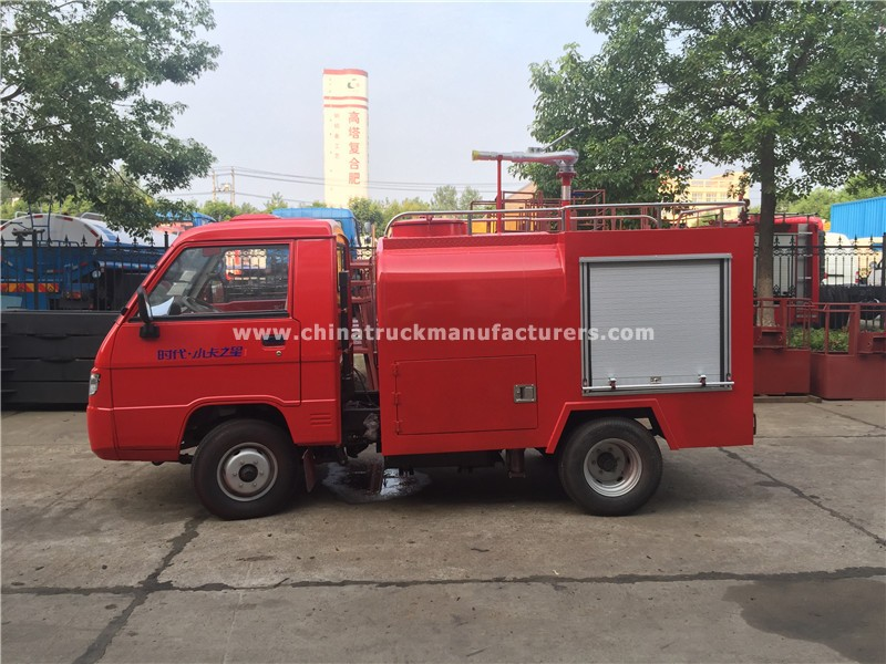 China 2 ton Fire Fighting Water Tanker Truck