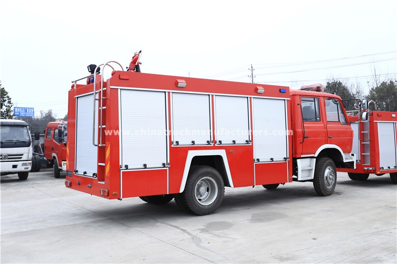 China 5 ton Fire Fighting Water Tanker Truck
