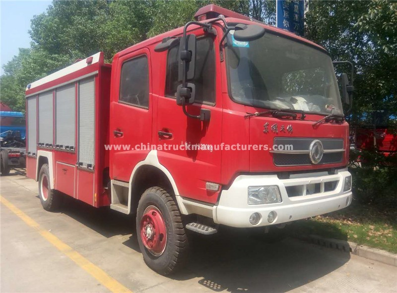 China 6 ton Fire Fighting Water Tanker Truck