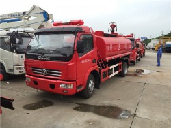 China 6 ton fire water trucks
