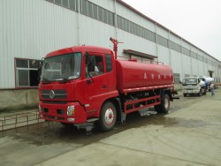 China 12 ton fire water trucks