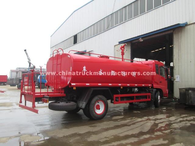 China 12 ton fire water trucks