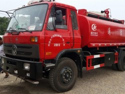 China 15 ton fire water trucks