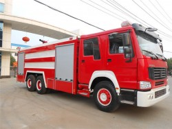 China 6x4 water/foam fire fighting truck