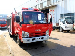 China 4x2 water/foam fire fighting truck