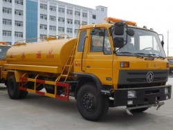 China 4x2 4000 gallon water trucks