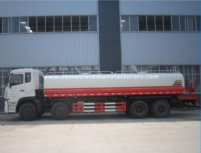 China 8x4 8000 gallon water tank truck