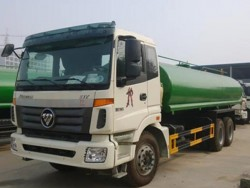 FOTON 6x4 6000 gallon water tank truck