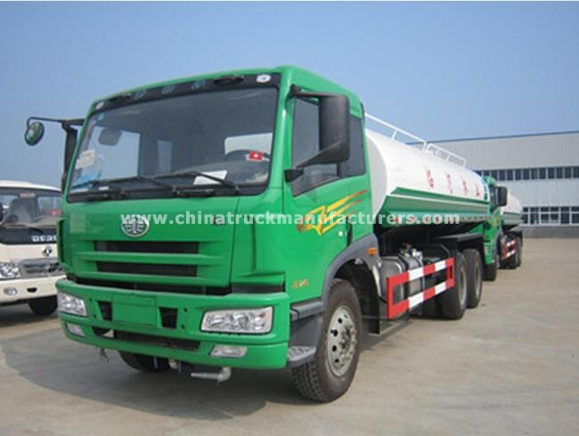 FAW 6x4 5000 gallon water tank truck for sale_Cheap Price - China