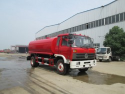 Dongfeng 4x2 2300 gallon fire water tank truck