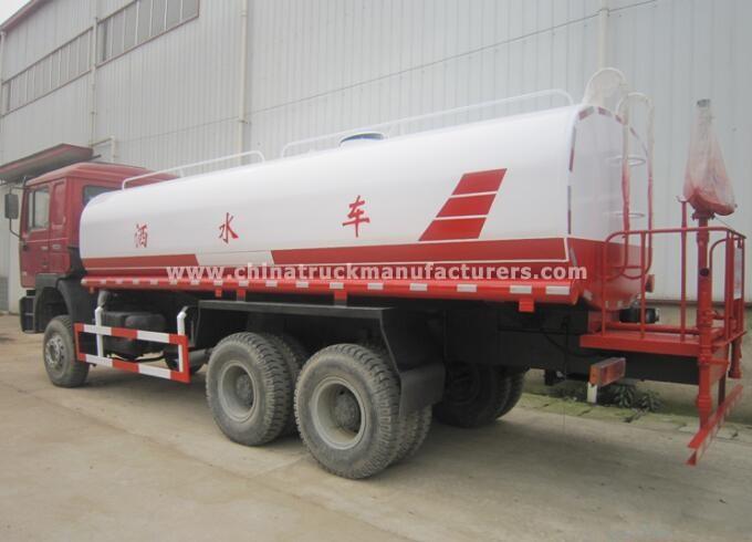 Shacman 6x4 10 Wheels 20000liters Water Tank Truck