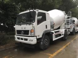 Dongfeng 4x2 concrete mixer truck 4m3