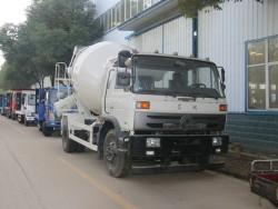 China 4x2 concrete mixer truck 6m3