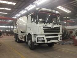 SHACMAN 6x4 concrete mixer truck 10m3