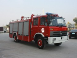 China 5 ton foam tank fire fighting truck