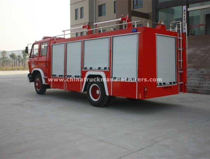 China 5 ton foam tank fire fighting truck