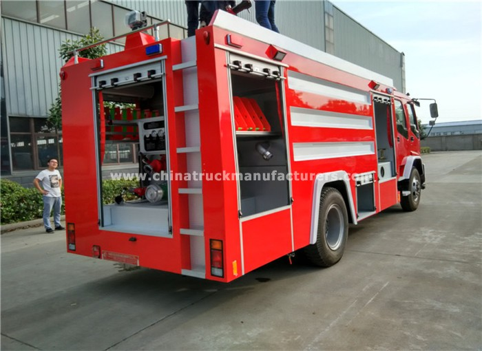 China 8 ton foam tank fire fighting truck