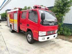China 4 ton water/foam fire fighting truck