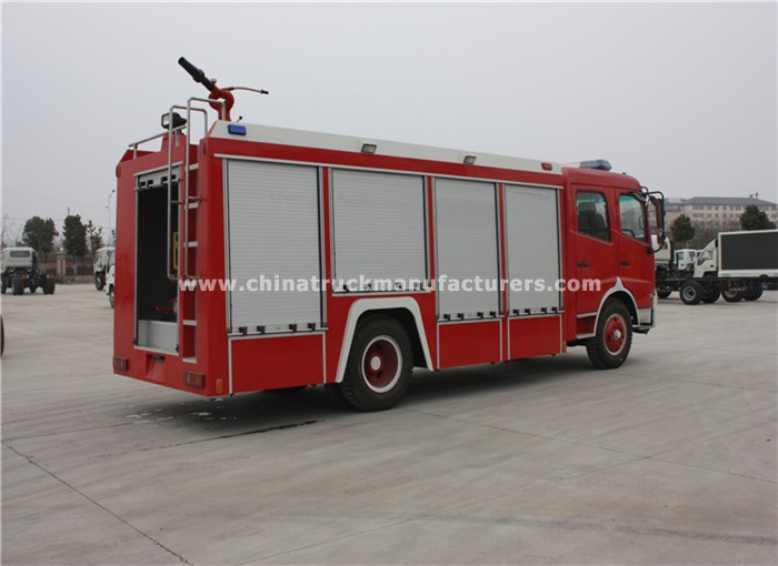 Dongfeng 6 ton water/foam fire fighting truck
