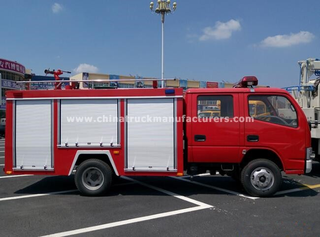 Dongfeng 4x2 4 ton Foam and water Fire truck