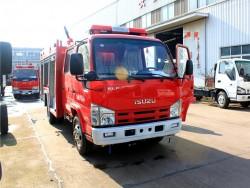 ISUZU 4x2 2.5 ton fire water truck