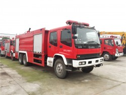 ISUZU 6x4 15 ton fire fighting truck