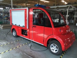 Electric 4X2 fire water truck