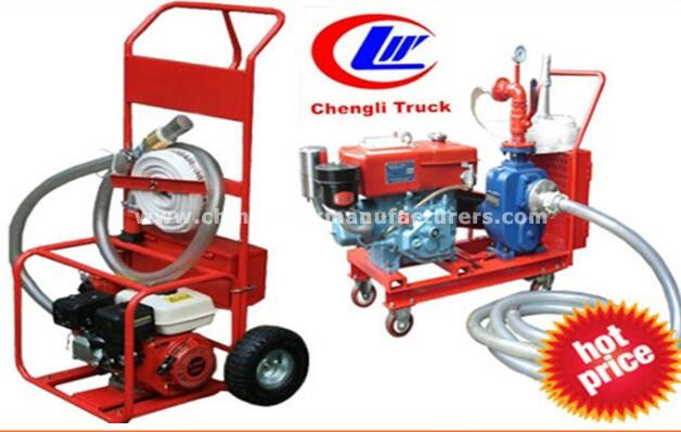 Diesel Portable Emergency Fire Pump