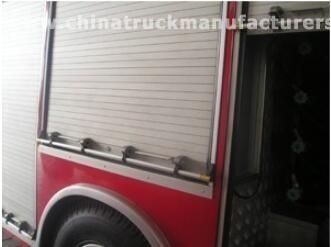 Roll up doors for firefighting trucks