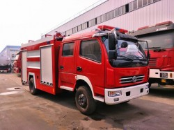 China 4x2 Dry Powder and Foam Fire Fighting Truck
