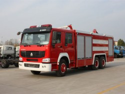 China 6x4 Dry Powder Fire Fighting Truck