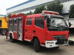 China 4x2 rescue fire engine truck