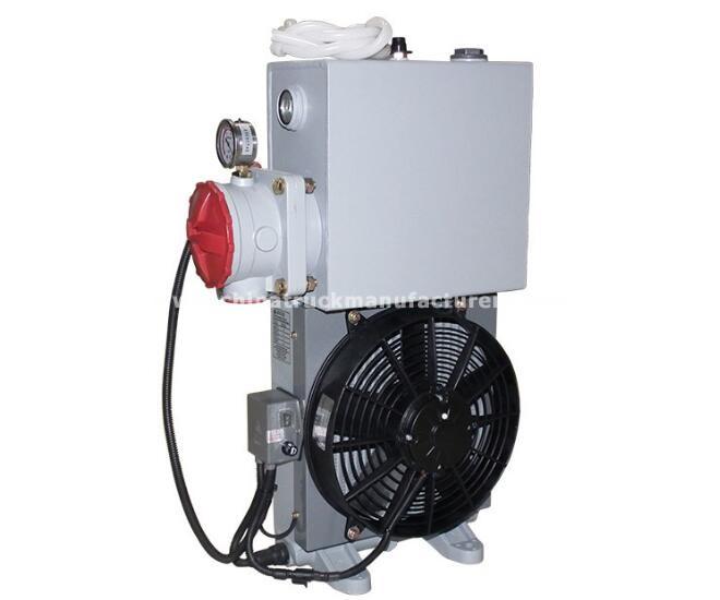 concrete mixer truck 12 L/15L/18L/20L/26L/32L Oil cooler radiator