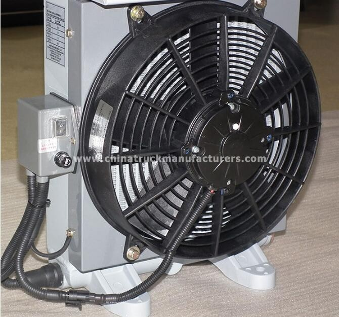 Oil cooler /radiator applied for concrete mixer 6-7m3
