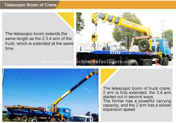CWL Truck mounted crane Factory