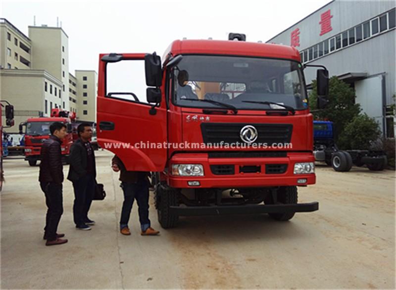 Dongfeng tianjin 4x2 8 ton truck with crane