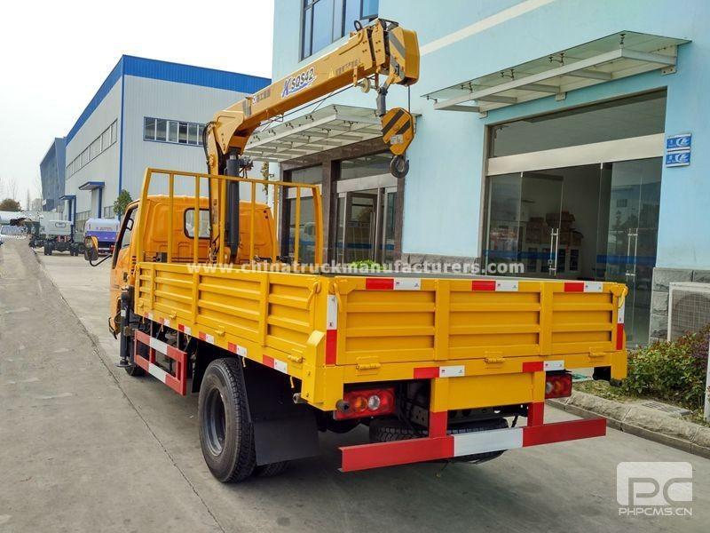 JMC 4x2 2 ton truck with crane