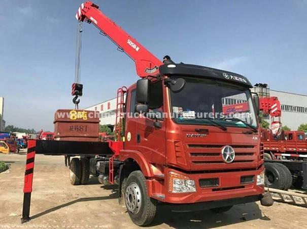 Dayun 4x2 3.2 ton Lorry-mounted crane