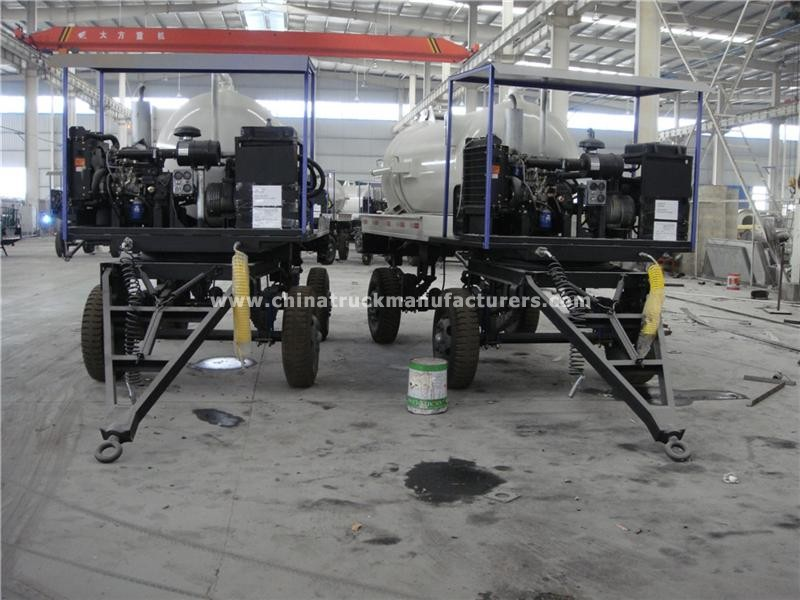 3000 ltrs small vacuum tank toilet trailer for sale_Cheap