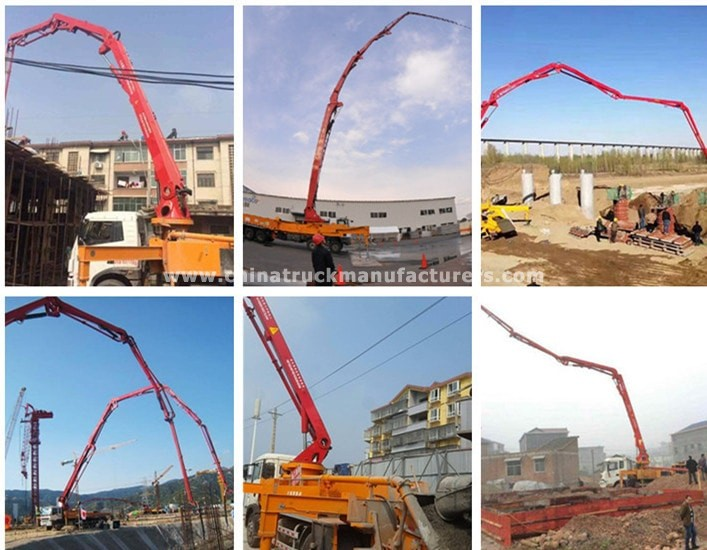 China Concrete Pump Truck Suppliers