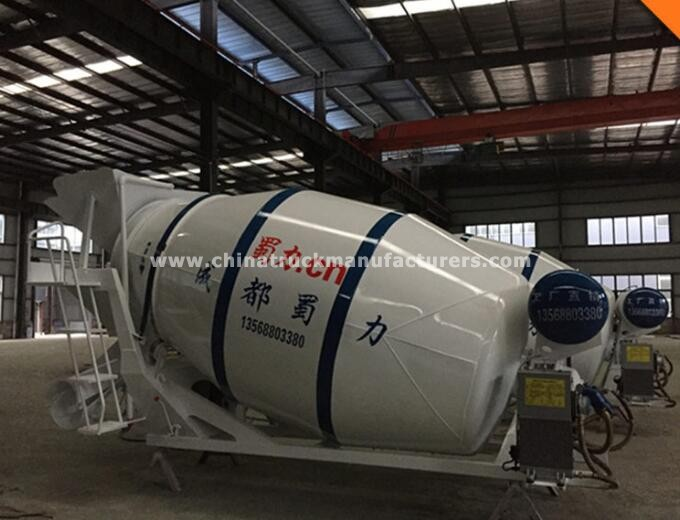 4m3 small concrete mixer drums